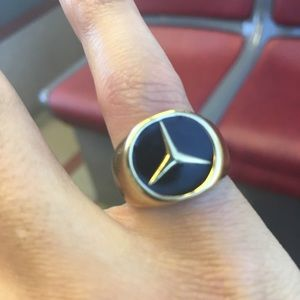Benz gold ring 🔥🔥 custom one of a kind